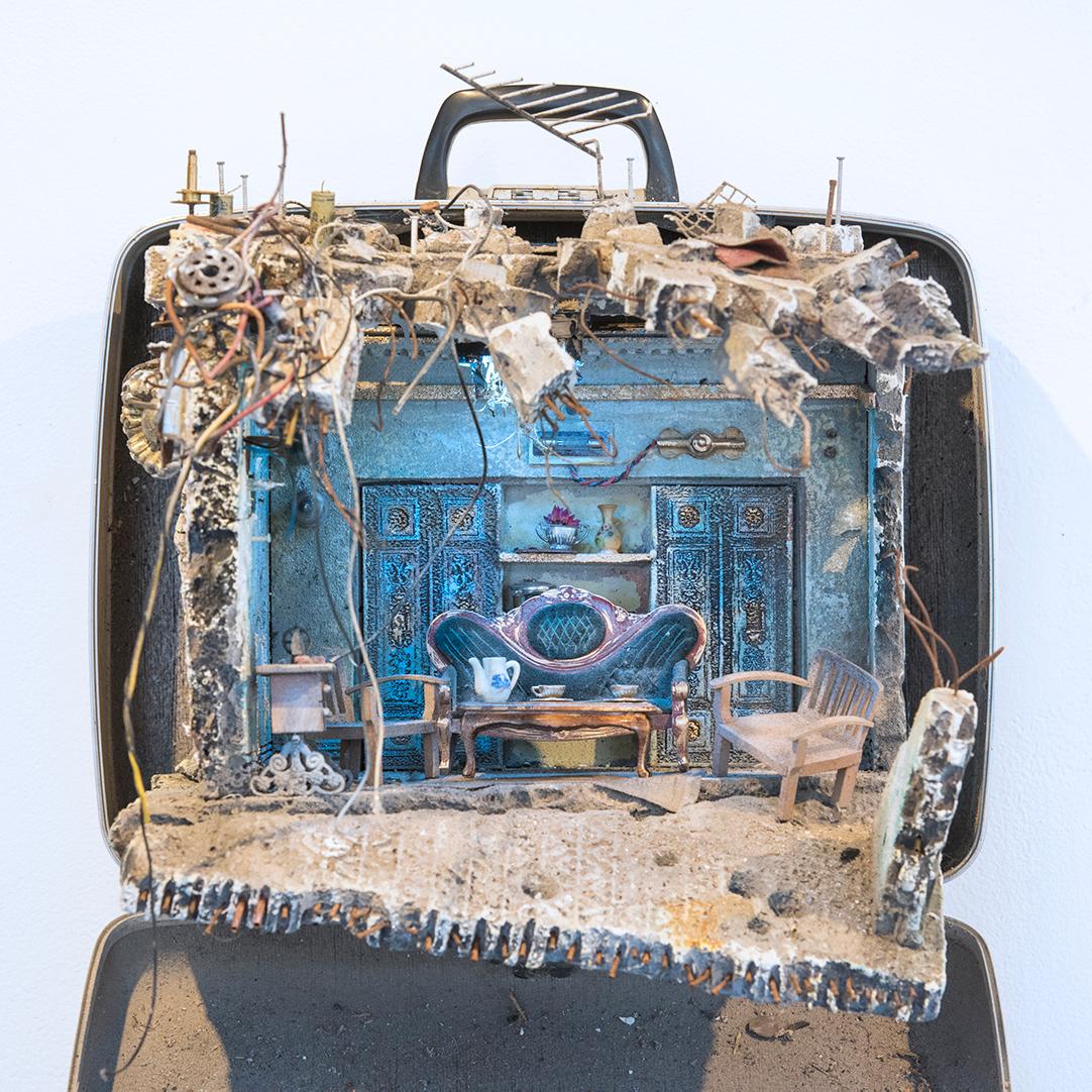 Ayman & Ghina Unpacked Refugee Baggage (2017)