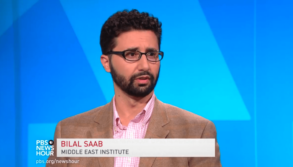 Bilal Saab on PBS Newshour