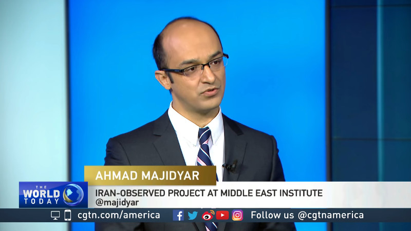 Ahmad Majidyar on CGTN