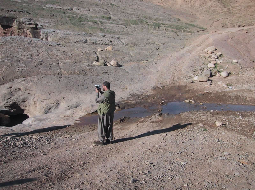 Photo above: NILE team member conducting reconnaissance operations.