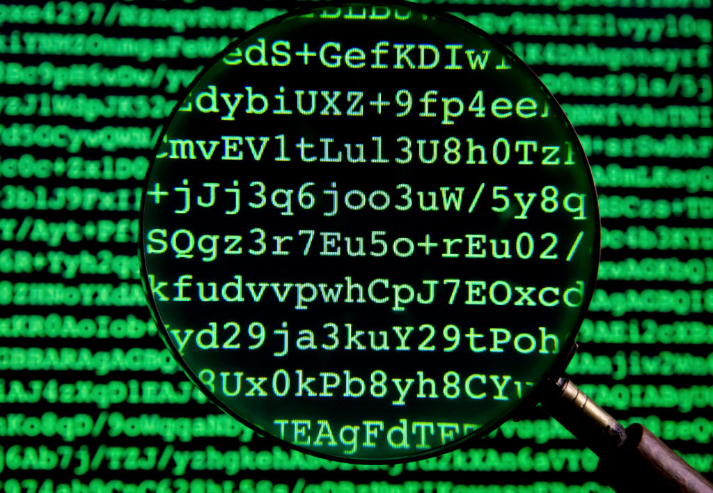Only as strong as its weakest link: public key of the encryption software GnuPG, an Open-Source-version of PGP.