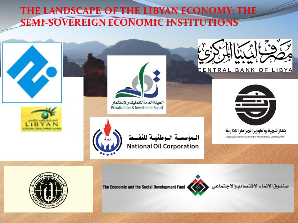 The real rulers of the roost: Post-Gadhafi Libya's semi-sovereign economic institutions