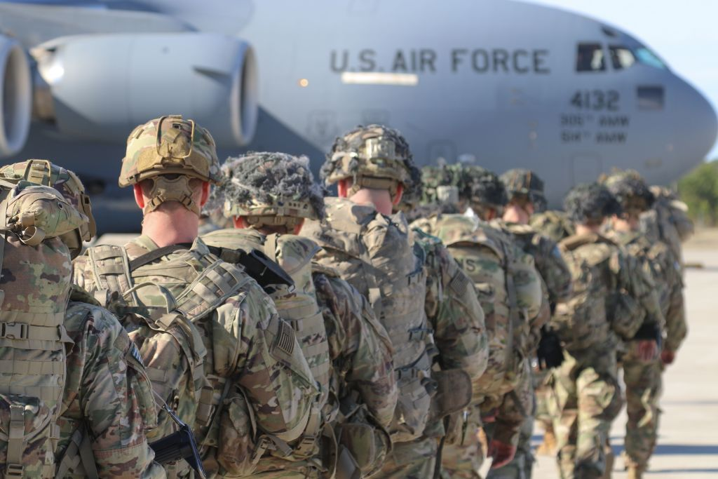 Paratroopers from 2nd Battalion, 504th Parachute Infantry Regiment, 1st Brigade Combat Team, 82nd Airborne Division were activated and deployed to the U.S. Central Command area of operations in response to recent events in Iraq.