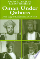 book image: Oman under Qaboos
