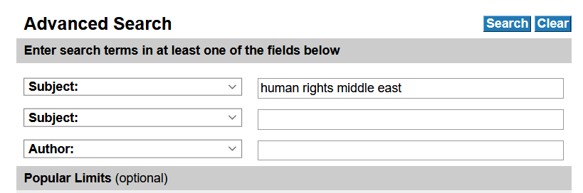 human rights search