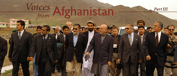 The Afghanistan Stabilisation Program (ASP): A National Program to Improve Security and Governance