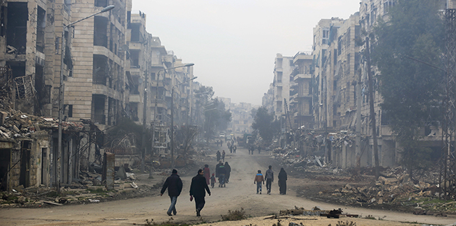 Aleppo's Warlords and Post-War Reconstruction