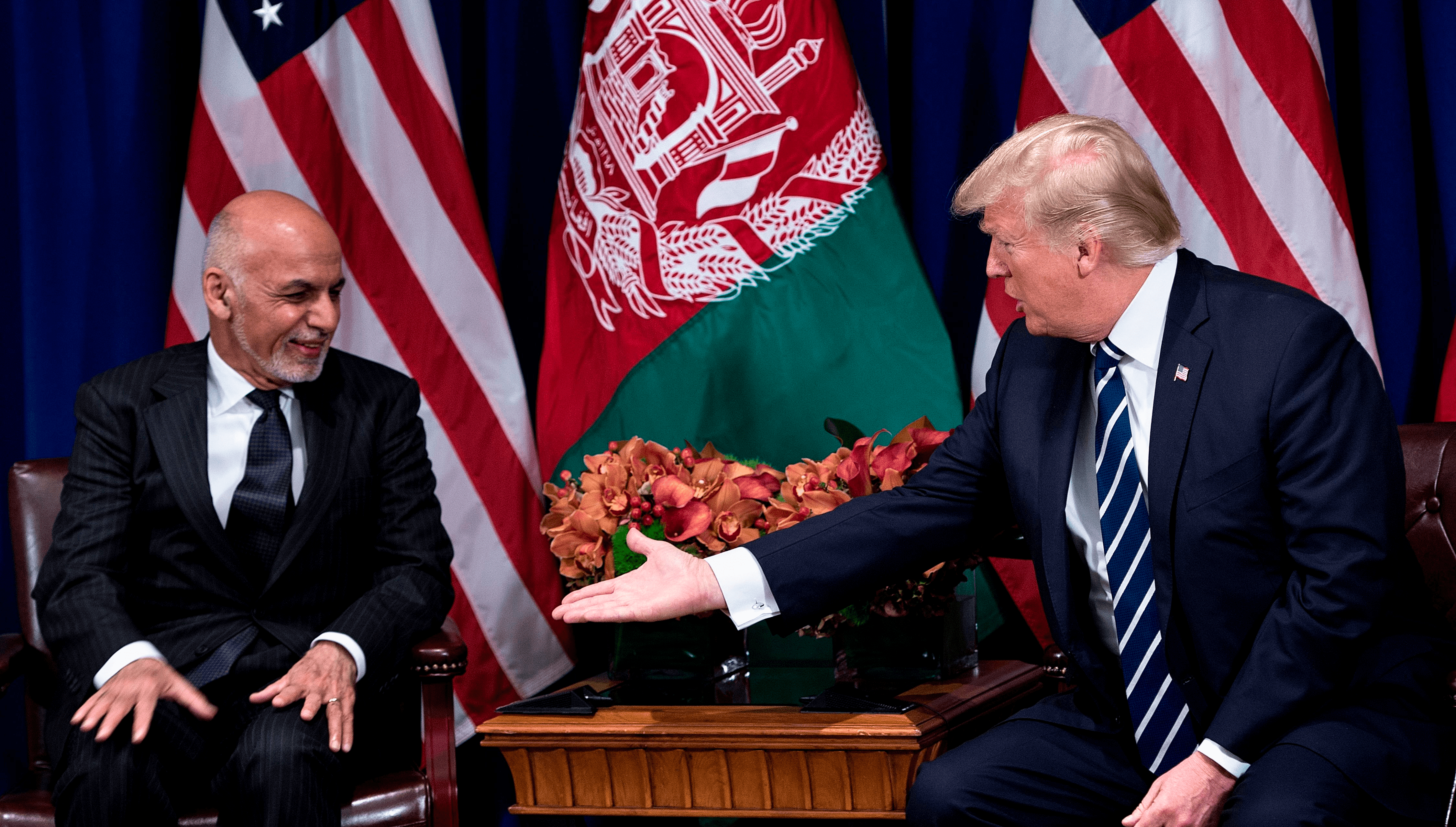 Is Trump making a policy shift in Afghanistan?