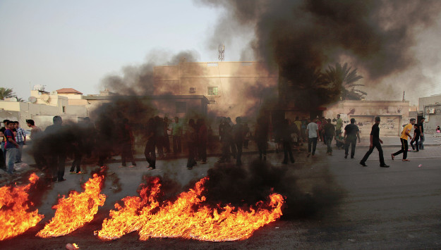 "Manama says Tehran and its regional allies sponsor ""terrorist cells"" to destabilize Bahrain"