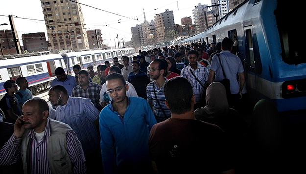 Cairo's Rough, Crowded, and Vital Underground Artery