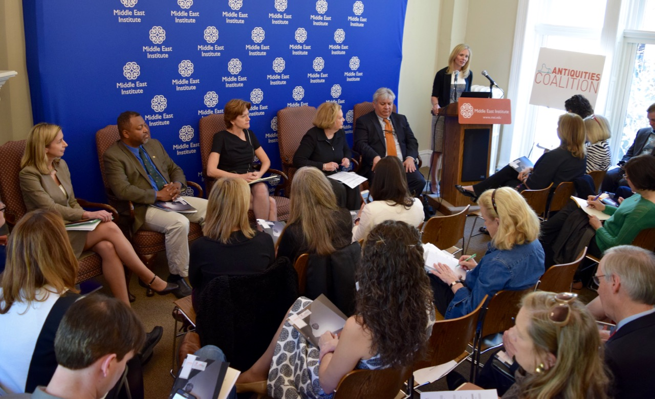 #CultureUnderThreat Task Force Unveils Recommendations to Combat Antiquities Trafficking