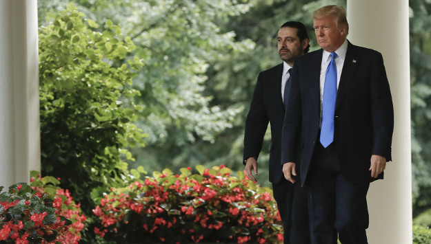 Hariri Visits Washington