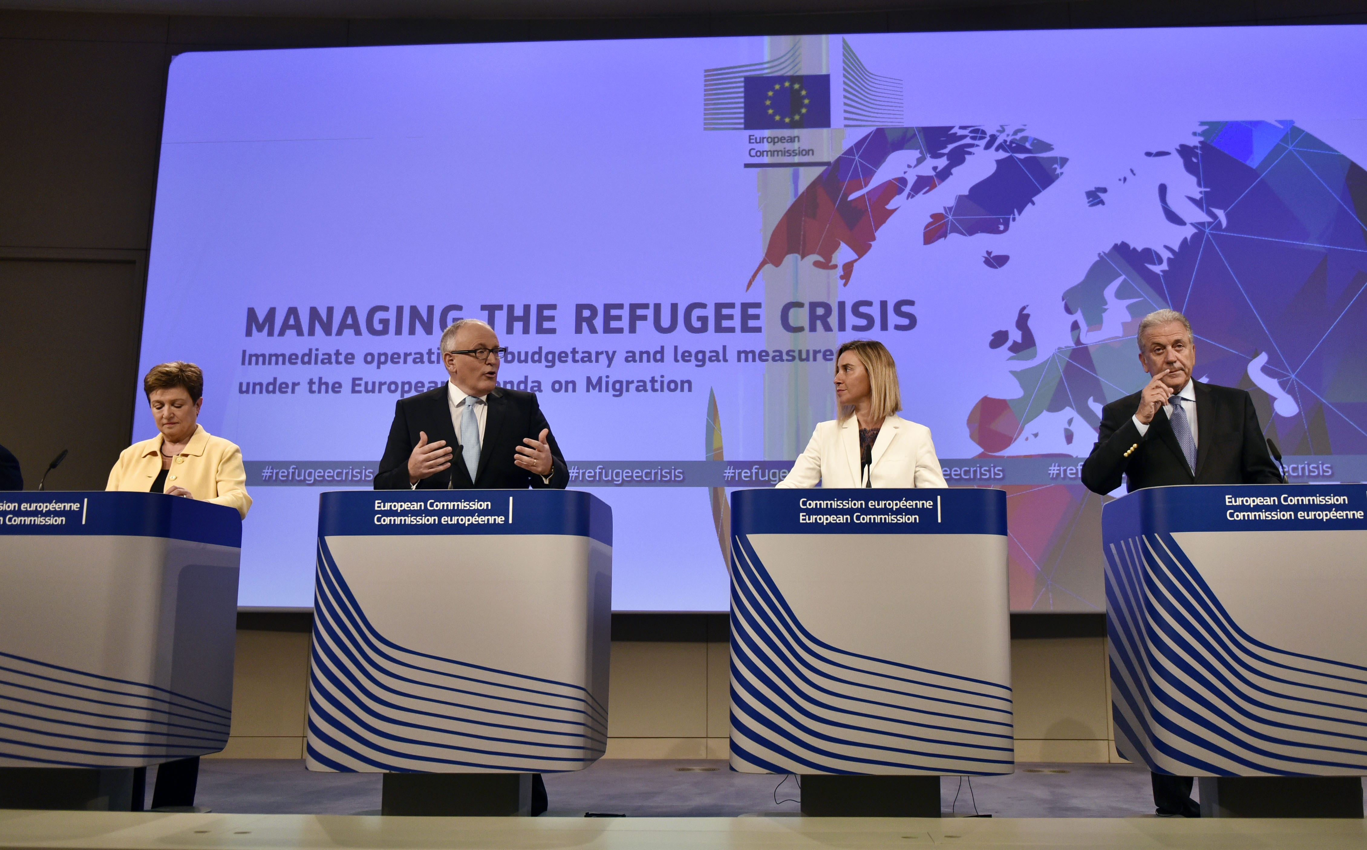 Between Security and Protection: The E.U'.s Refugee and Migration Policy Crisis