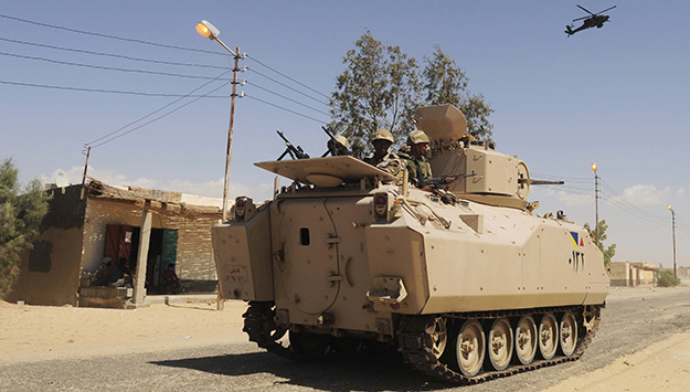 Egypt and Israel: Sinai Heat Thaws the Cold Peace