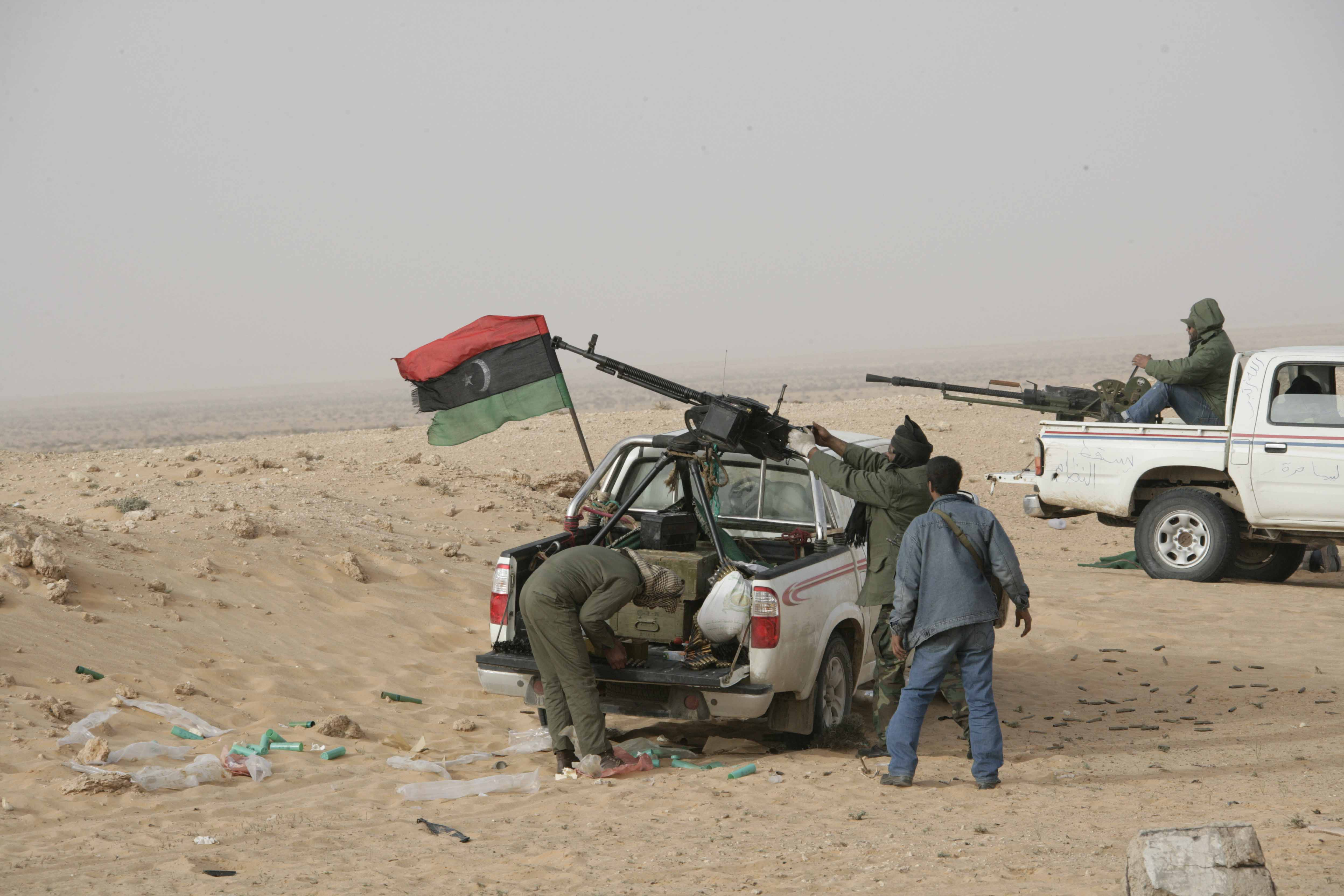 The February 17th Revolution in Libya