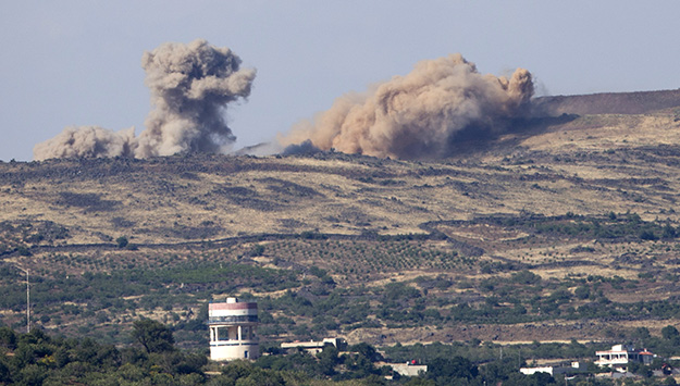 Tensions in the Golan
