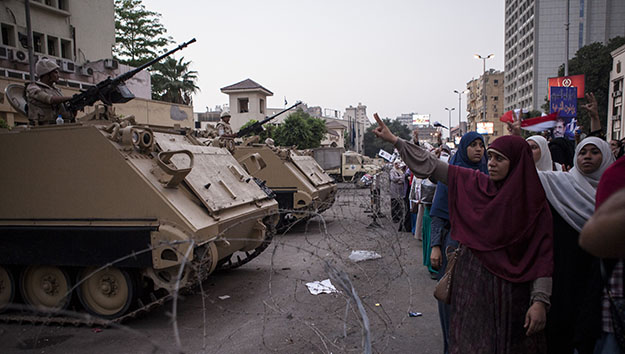 Egypt after June 30: Violence in Speech, Politics, & Institutions