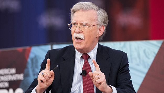 Monday Briefing: Bracing for Bolton