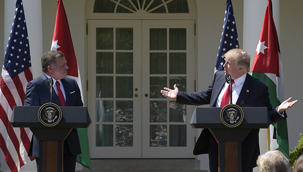 Jordan Confused by Trump's Flip-Flops on MidEast