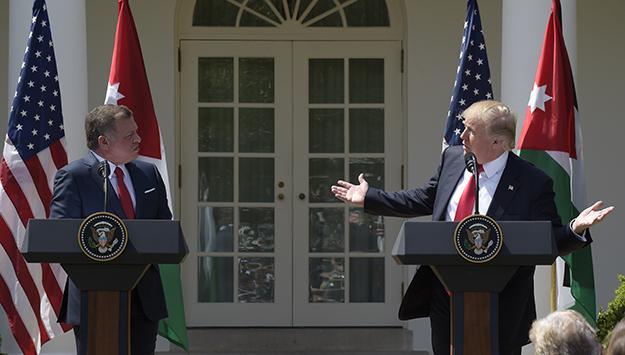 Jordan Confused by Trump's Flip-Flops on MidEast