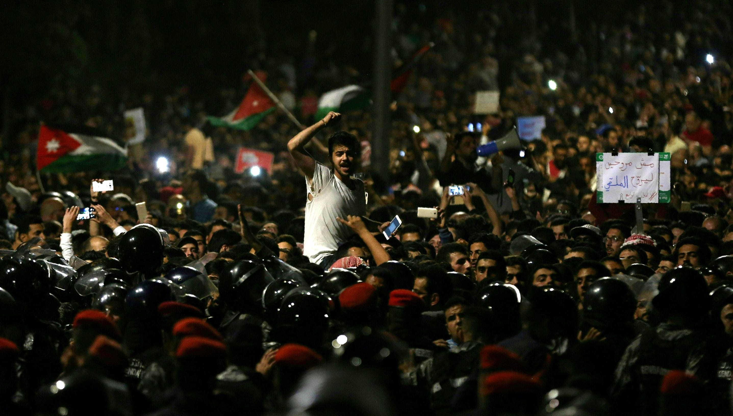 Jordan's protests: Challenges to long-term stability
