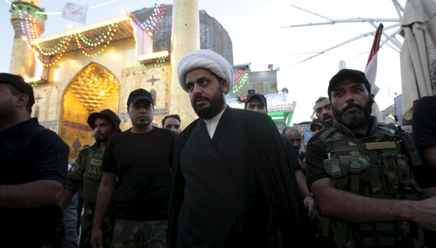 Iran's allies in Iraq push for US troops' exit from Sunni regions ahead of elections