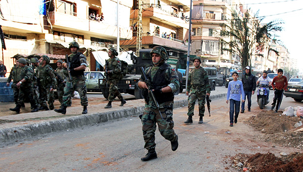The Syrian Conflict and the Ascendancy of the Lebanese Armed Forces