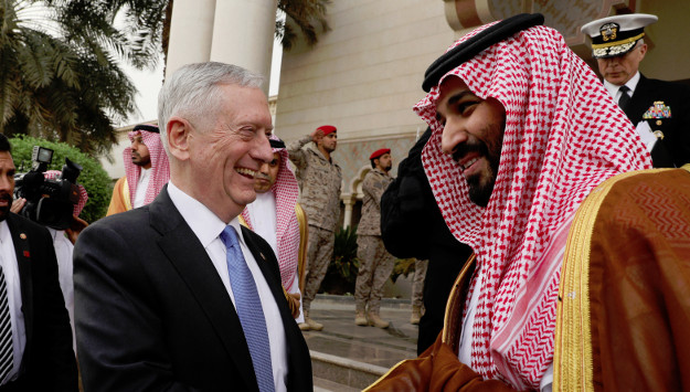 Defense Secretary Mattis' Remarks in Riyadh Angers Tehran
