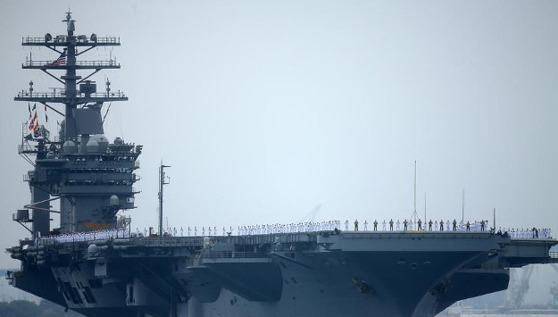 Iranian Drone Comes Dangerously Close To US Aircraft Carrier In Persian Gulf
