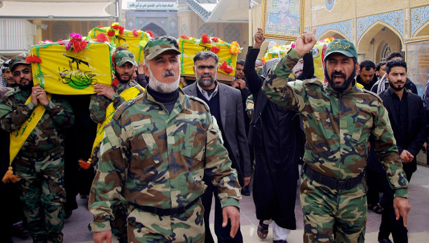 "Iranian-backed Iraqi militia group to Trump: ""We're waiting for you in Syria"""