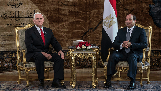 Pence's pointless peregrination in the Mideast | Monday Briefing