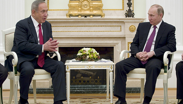 Netanyahu to Putin: Keep Iran Away from Golan