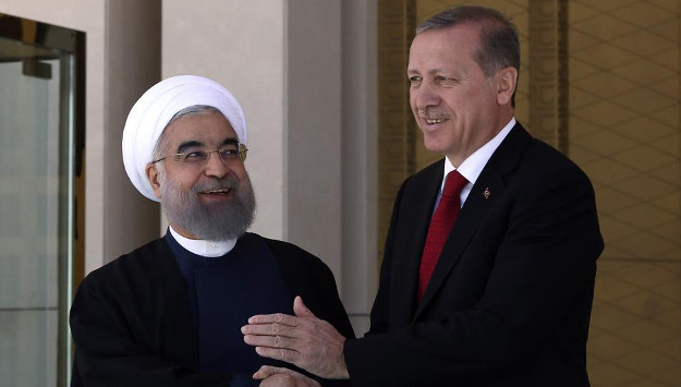Rouhani and Erdogan discuss Syria after tension over US-led strikes