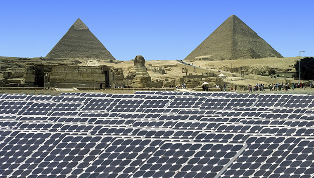 Asia's Role in the Mideast Solar Surge