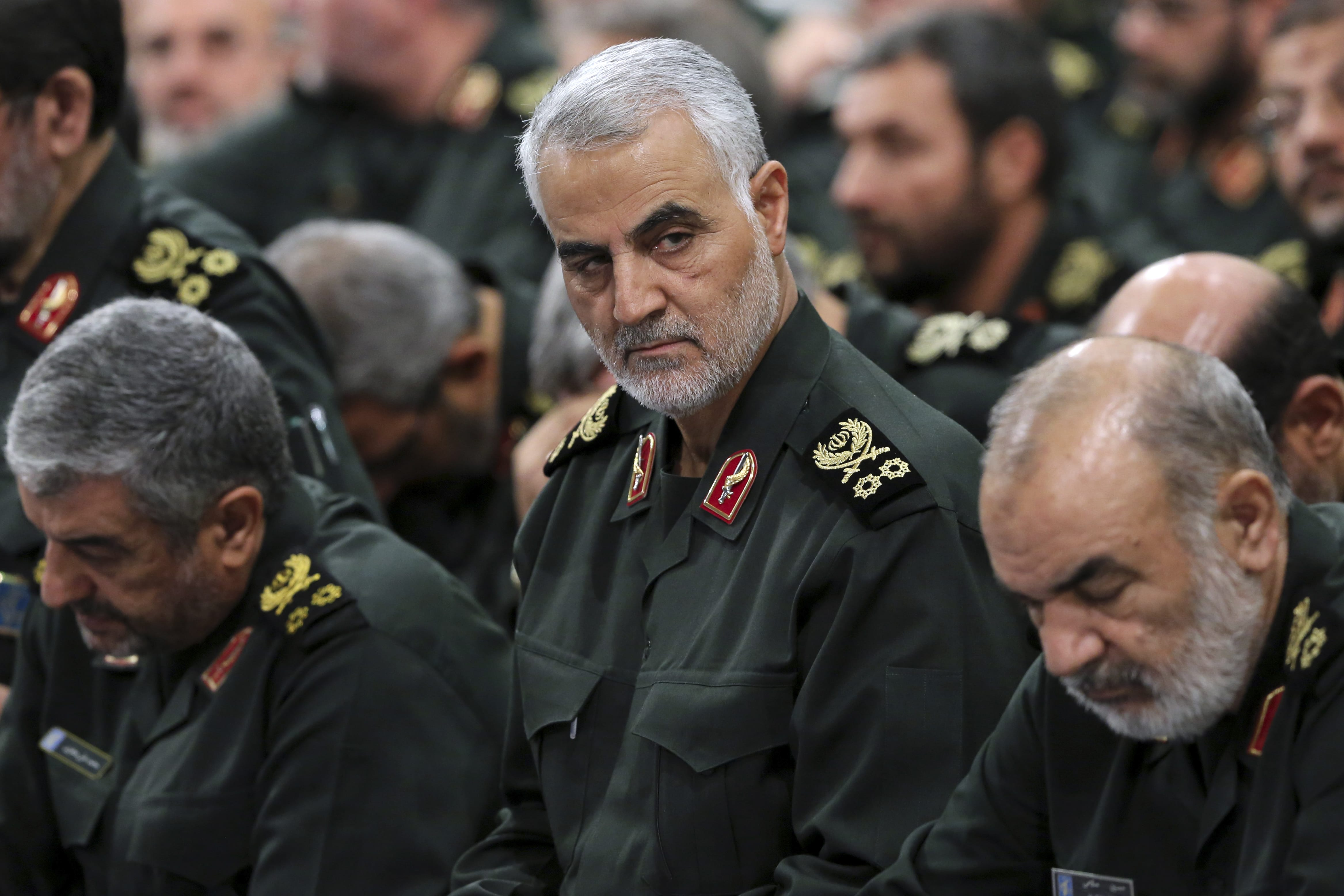 Iran's Quds Force officers in the limelight