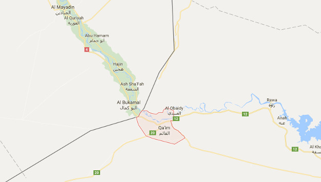 Iranian-Backed Militias Trying to Link up along Iraqi-Syrian Border