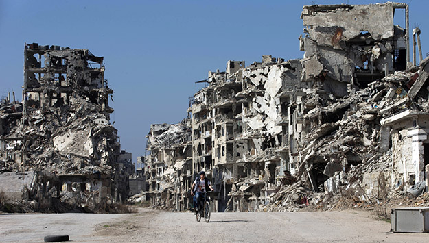 Debt-Ridden and Broke: The Syrian Regime's Colossal Reconstruction Challenge