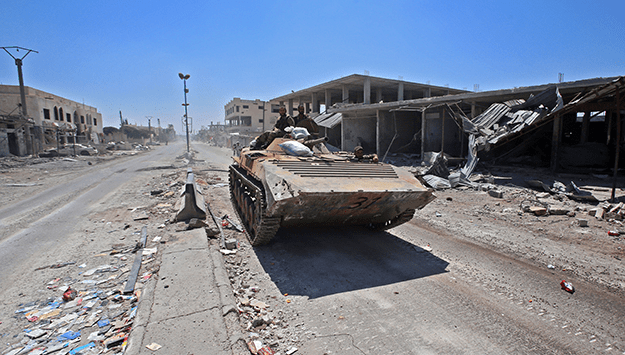 Will Iran leave Syria?
