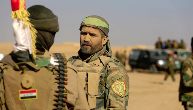 Iran-Backed Militiamen Playing Leading Role in Western Mosul, Spreading anti-U.S. Propaganda