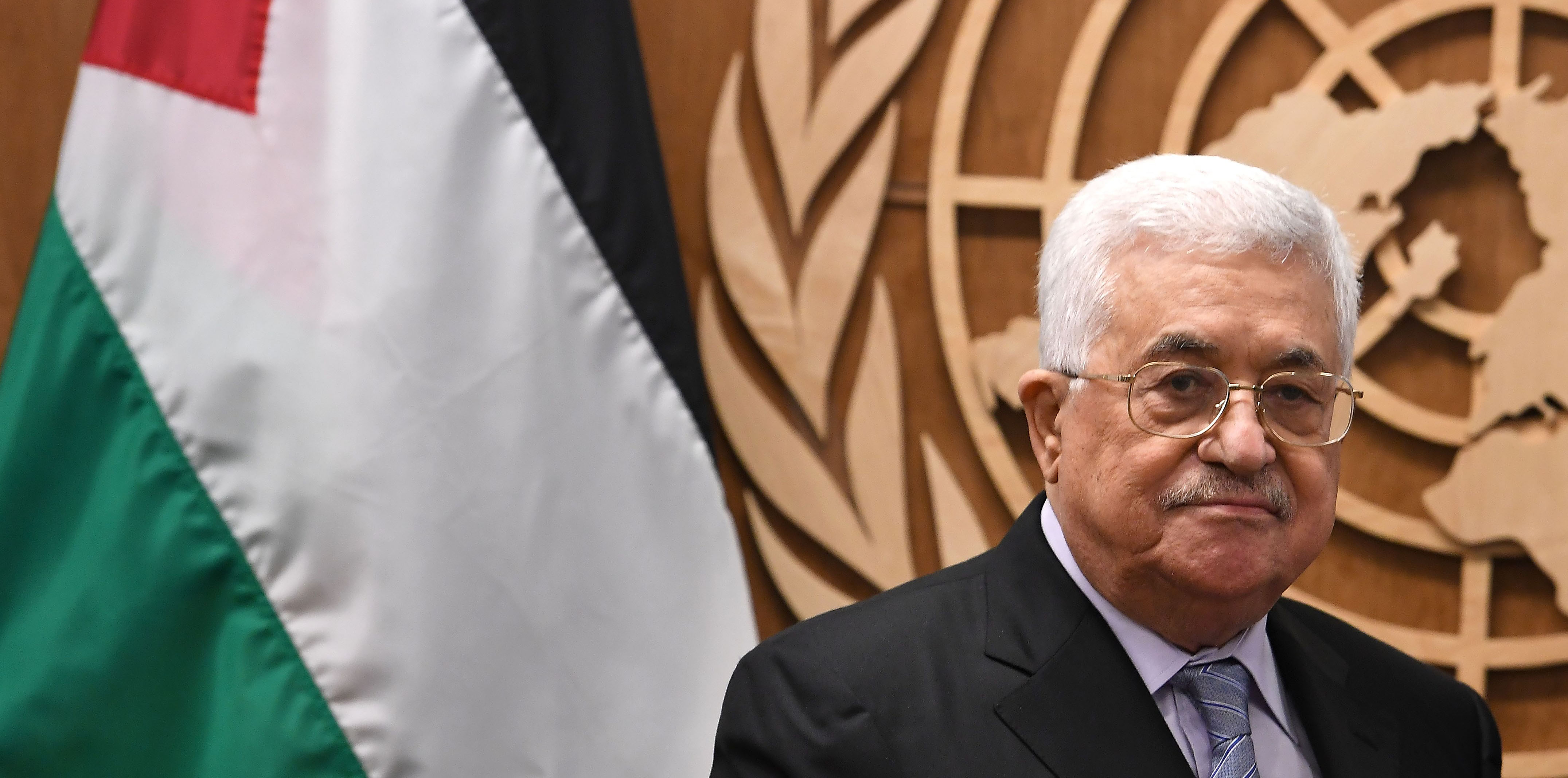 The Palestinian president's predicament