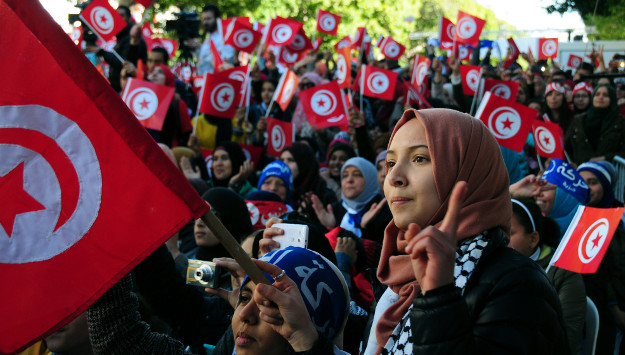 Tunisia's revolution endures behind facade of 'success'
