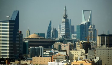 A view of Riyadh.