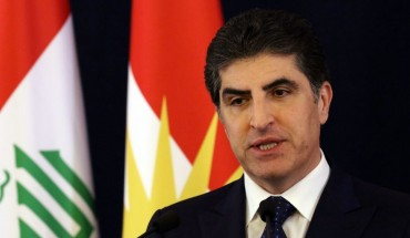 President of Kurdistan Region Nechirvan Barzani speaks during a press conference in Arbil, the capital of the northern Iraqi Kurdish autonomous region, on January 8, 2020. (Photo by SAFIN HAMED / AFP) (Photo by SAFIN HAMED/AFP via Getty Images)