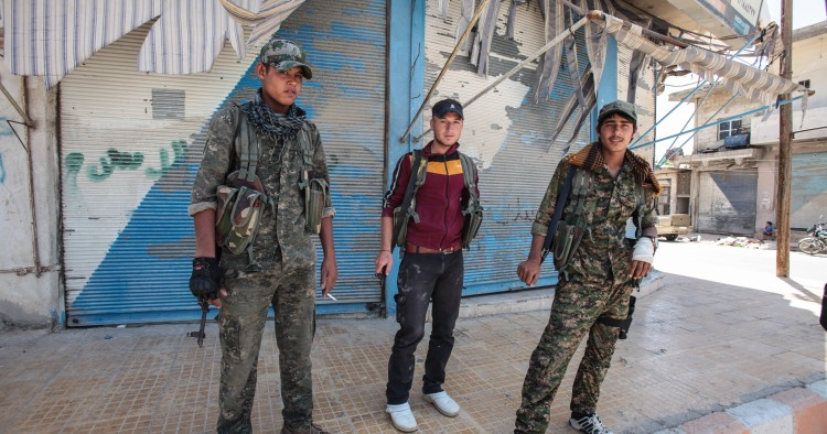 YPG in Tal Abyad