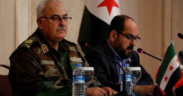 Syrian National Army and National Independence Front merge