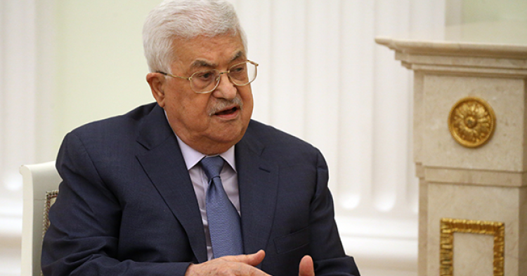 Mahmoud Abbas, President of the Palestinian Authority