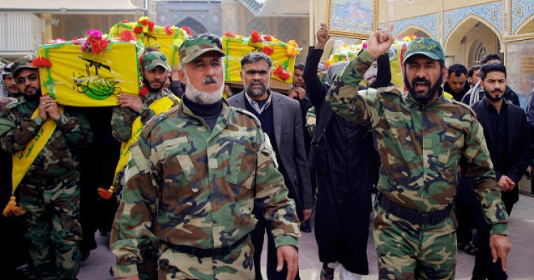 Iran Backed Iraqi Groups Threaten Violence Following U S Terrorism Bill Middle East Institute