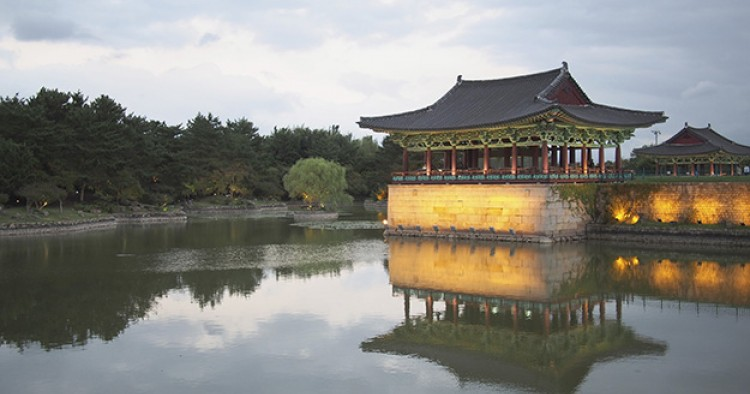 Korean Silla hanbok