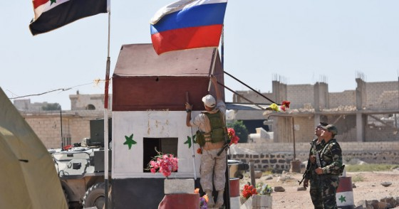 Russian troops in Syria