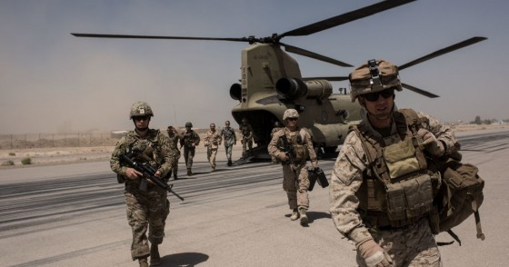 US troops, Helmand Province